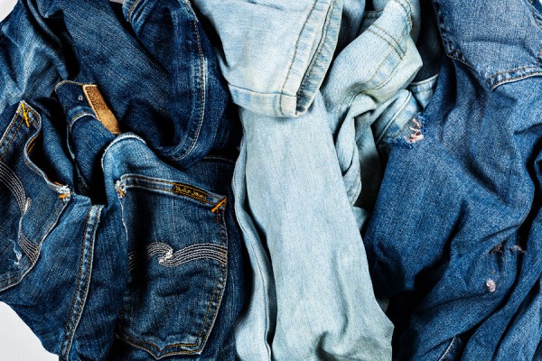 Jeans vom Recycling