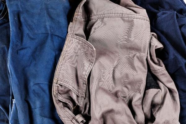 Arbeitskleidung vom Recycling